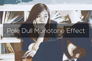 Pale Dull Monotone Effect