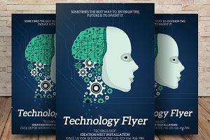 Corporate Technology Flyer Template