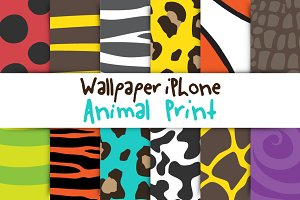 Wallpapers iPhone//Animal Print