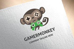Gamer Monkey Logo