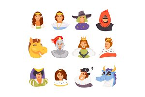 Fairy tale Royal characters