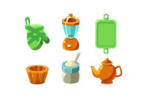 Kitchen utensils set, cooking tools