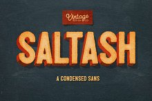 Saltash - A Condensed Sans