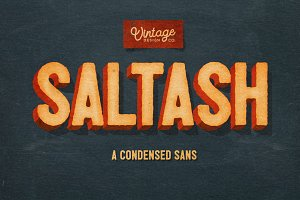 Saltash - A Condensed Sans