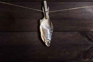 salted fish crucian