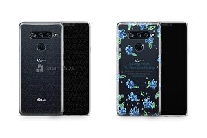 LG V40 ThinQ UV TPU Clear Case