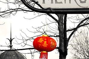 Paris. Chinese New Year. Metro.