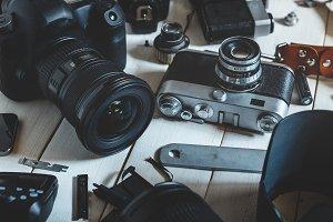 Retro Vintage Film Camera, DSLR Came