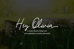 Hey Olivia - a romantic script