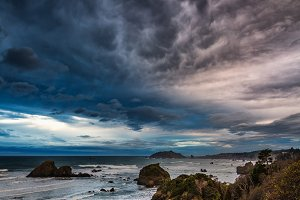 Storm Clouds Over Trinidad