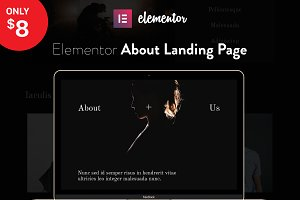 Elementor Landing Page Template