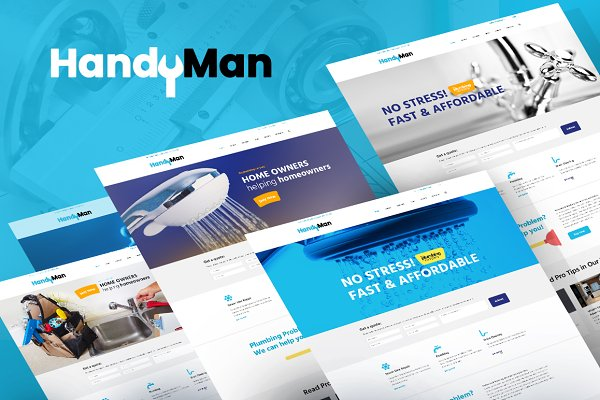 WordPress Business Themes: ThemeREX - Handyman Repair & Maintenance Theme