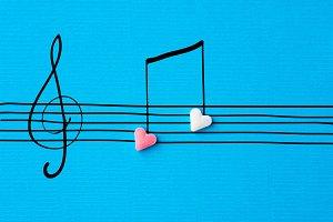 Creative Valentine greeting card