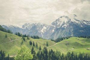 watzmann high mountains bavaria