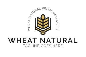 Wheat Logo Template