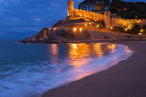 Tossa de Mar in Spain