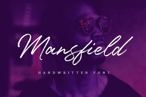 Script Fonts: Supertype - Mansfield Font
