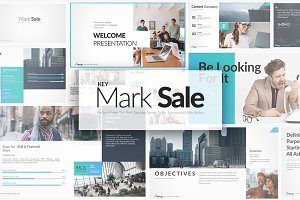 Mark Sale Keynote Templates