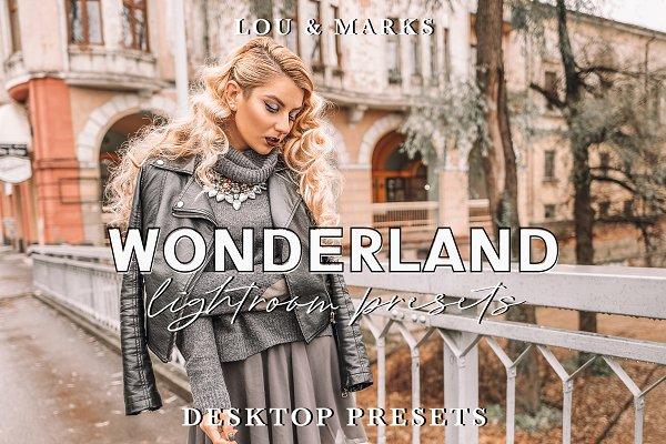 Lightroom Presets: LOU&MARKS - WONDERLAND PRESETS LR//ACR