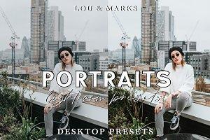 MODERN PORTRAITS DESKTOP & MOBILE