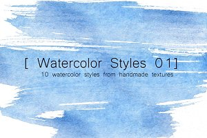 Watercolor Styles 01
