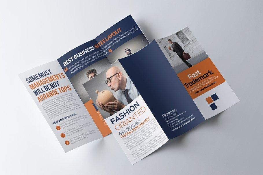 Business Trifold Brochure Templates Creative Market