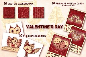Valentine's Day vector clipart