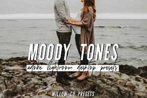 MOODY TONES LIGHTROOM PRESETS