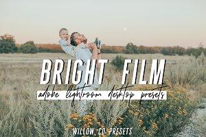 BRIGHT FILM LIGHTROOM PRESETS