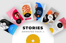 ANIMATED Instagram Stories Pack No.1 by  in Social Media