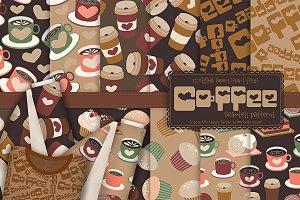 Coffee Shop 01 - Seamless Patterns