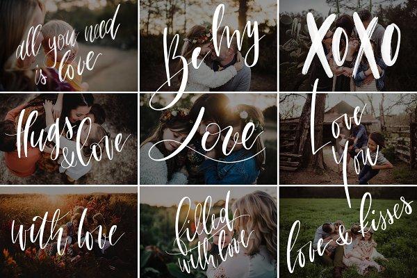Valentine's Day photo overlays vol…