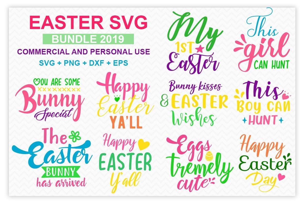 Easter Svg Tshirt Design Bundle Illustrations Creative