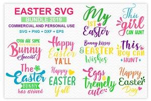 Easter SVG Tshirt Design Bundle