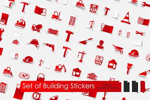 111 building stickers