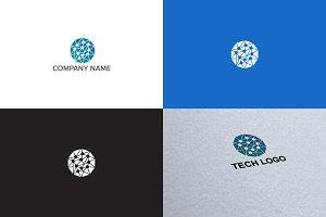 Connection logo design
