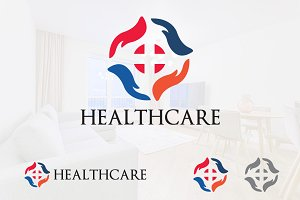 Hand Health Care Support Logo