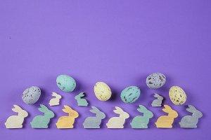 Easter Spring Background. Easter egg