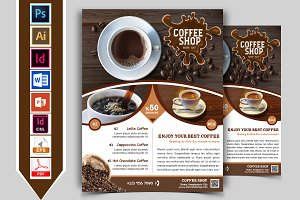 Coffee Shop Flyer Vol-01