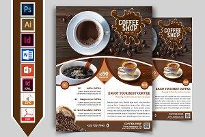 Coffee Shop Flyer Vol-01
