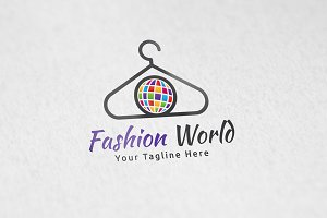 Fashion World - Logo Template