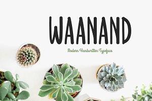 Waanand Typeface