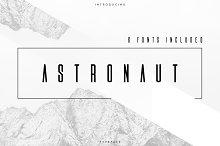 Astronaut Typeface - 6 fonts