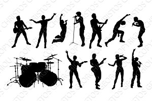Rock or Pop Band Musicians