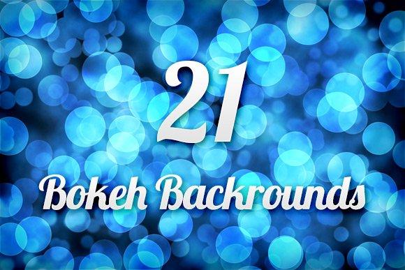 21 Bokeh Backgrounds