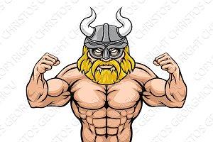 Viking Cartoon Sports Mascot