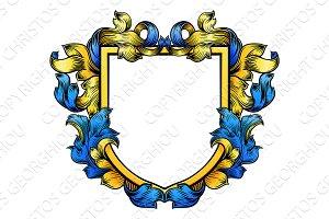 Coat of Arms Crest Knight Heraldic