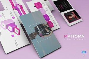 Mattoma - Keynote Template