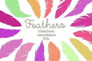 Feathers Clipart