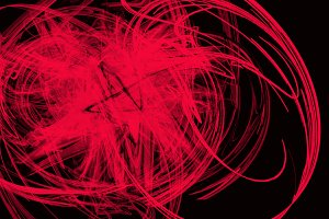 Abstractro red lines background